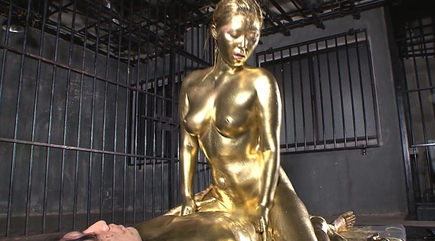 Golden Soap Slave Japanese Bondage